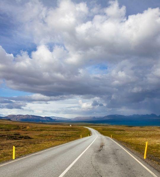 Road number 36 Thingvellir - Geysir