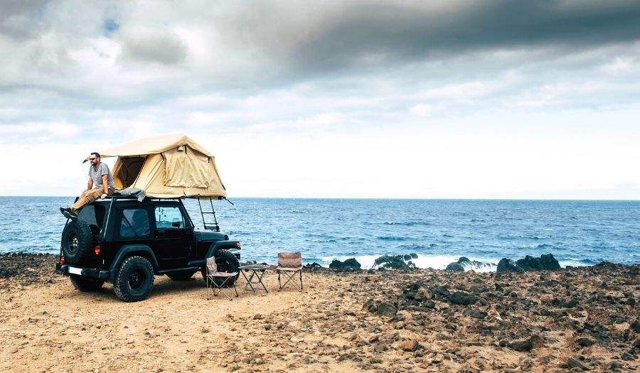 Rooftop Tent Iceland