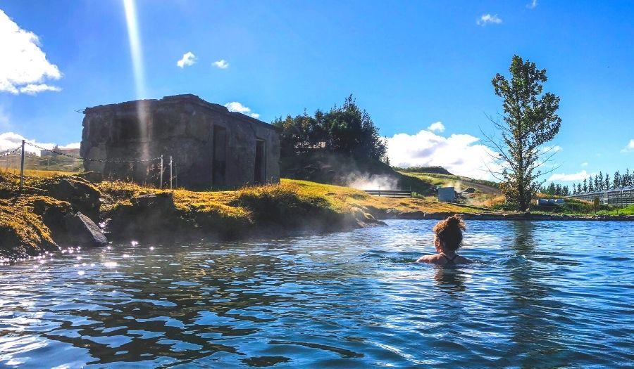 Secret Lagoon - Iceland