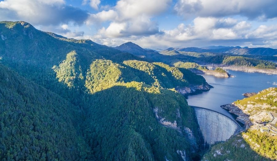 Tasmania - Gordon Dam
