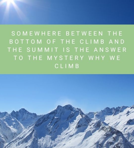 Travel Quotes Mountains