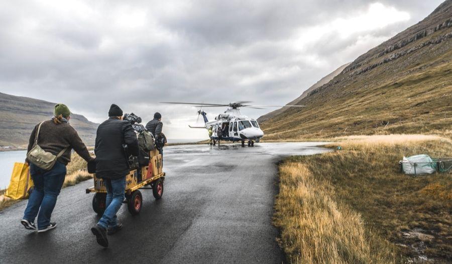 Use of Helicopter Faroe Islands
