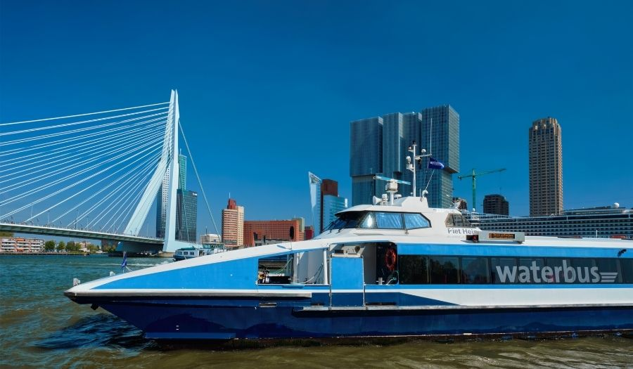 Waterbus Rotterdam - How to get there Kinderdijk