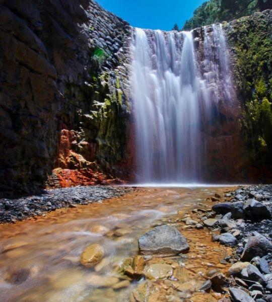 Waterfall Caldera de Taburiente National Park - La Palma