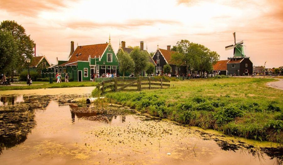 Zaanse Schans - Road Trip Netherlands