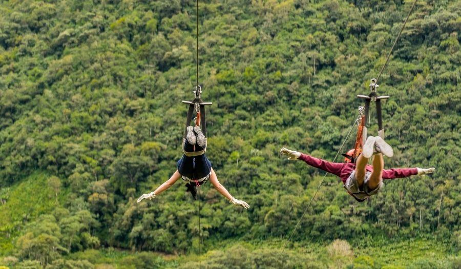 Ziplining Bali Adventures