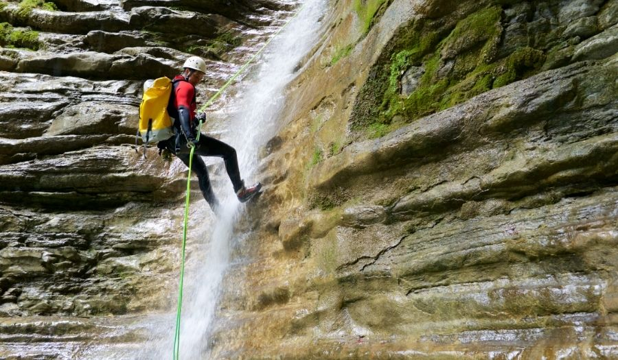canyoning bali adventures