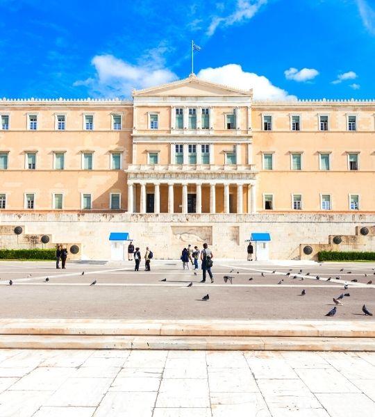Athens Greece - Greek Parliament Building