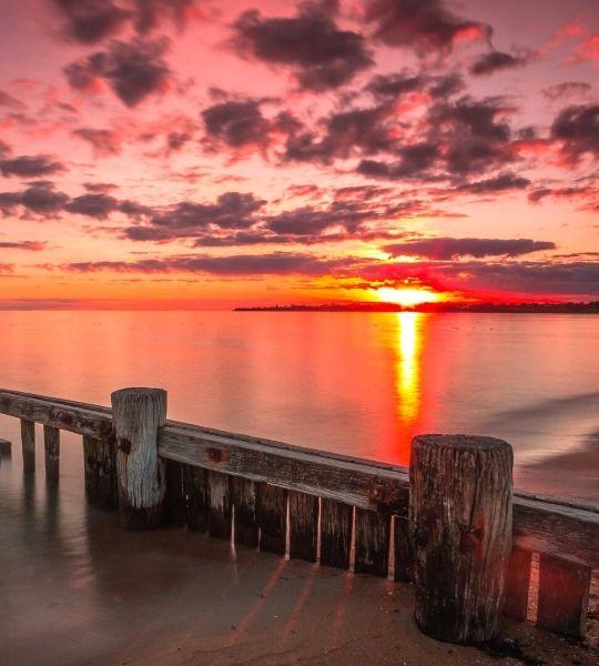 Australia - Sunset Great Ocean Road