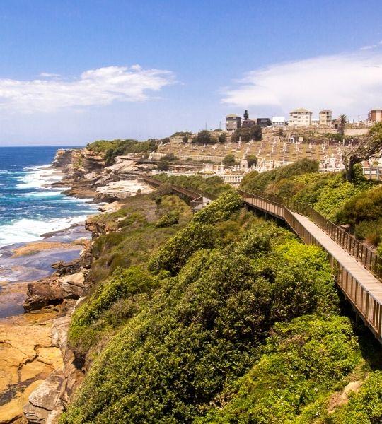 Bondi to Coogee Coastal Walk - Sydney Australia