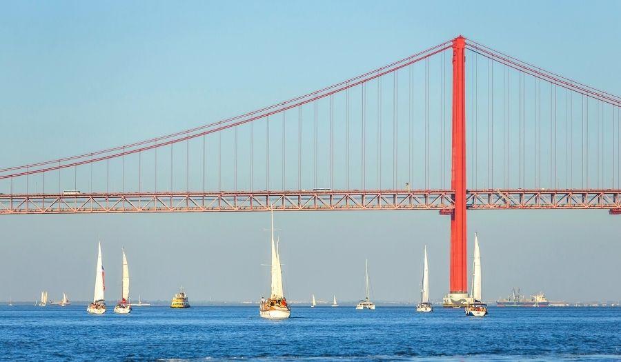 Cruise Down the Tagus River - Lisbon Portugal