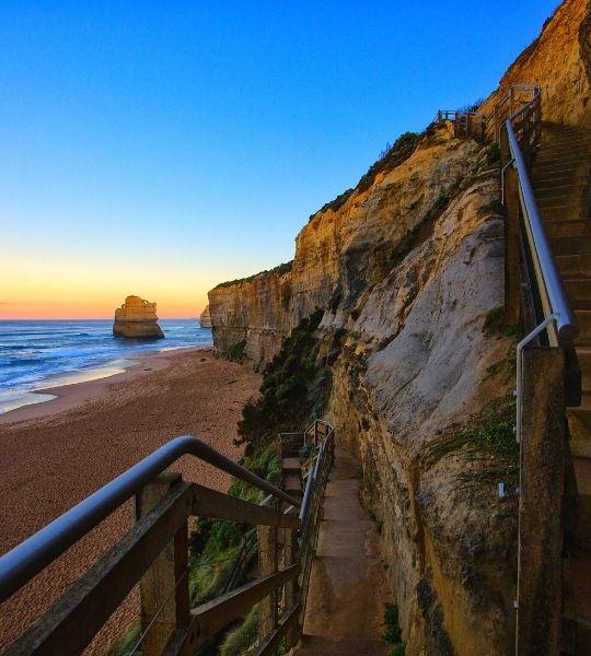 Gibson steps - Australia