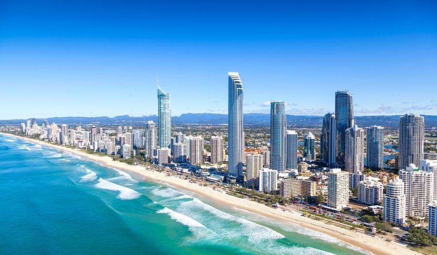 Gold Coast - Brisbane - Sydney Australia
