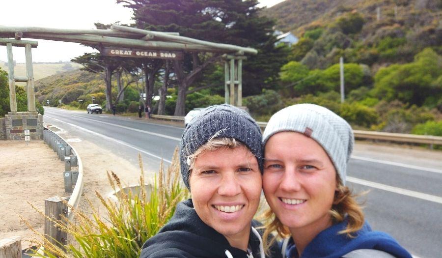 Great Ocean Road memorial sign - Australia