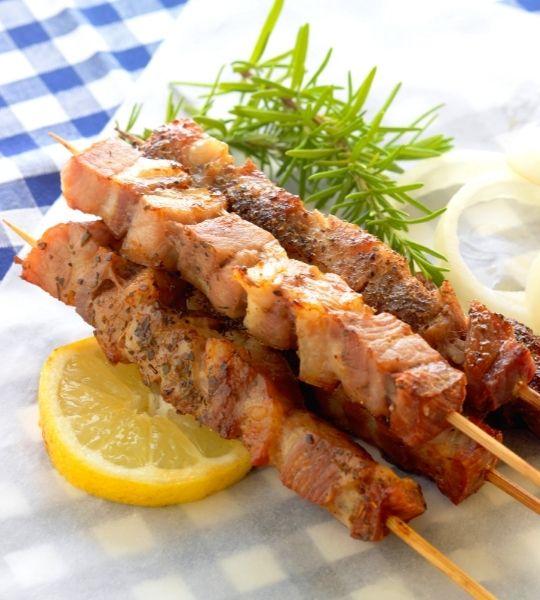 Greece Food souvlaki