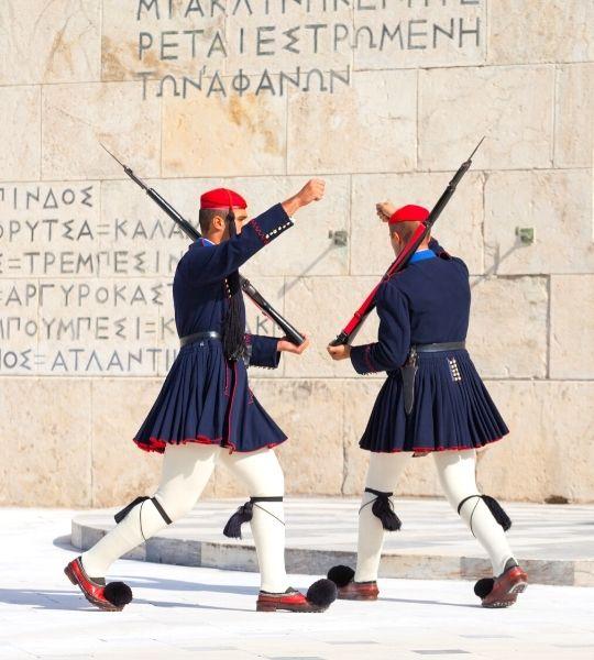 Greek Parliament Building - Guards Athens