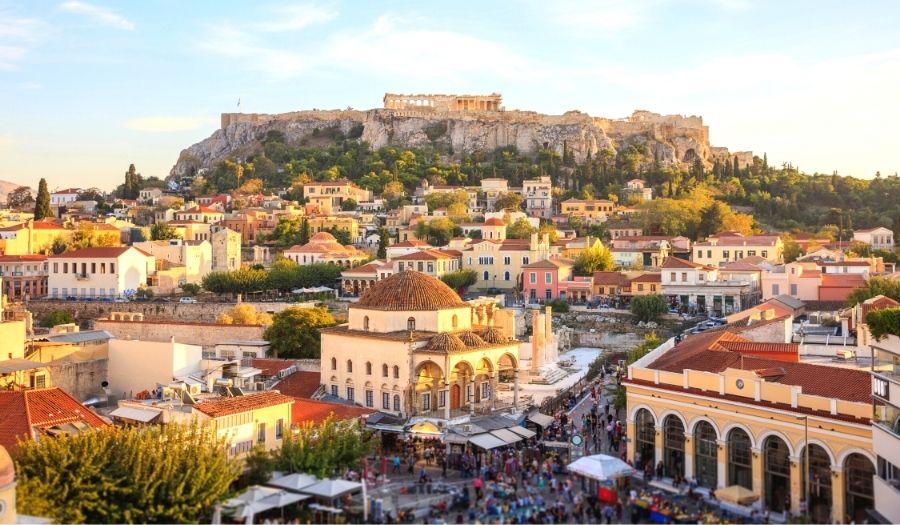 Monastiraki Square - Athens Greece