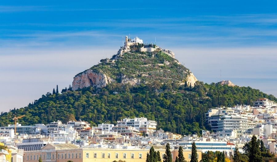 Mount Lycabettus - Athens Greece