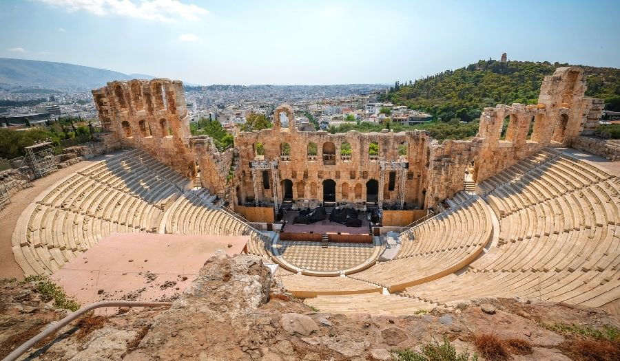 Odeon of Herodes Atticus - Greece Athens