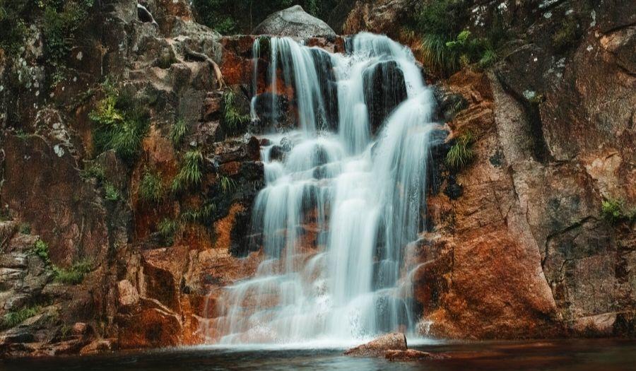 Peneda-Gerês Waterfall Portugal