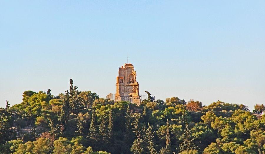 Philopappos Hill Athens Greece