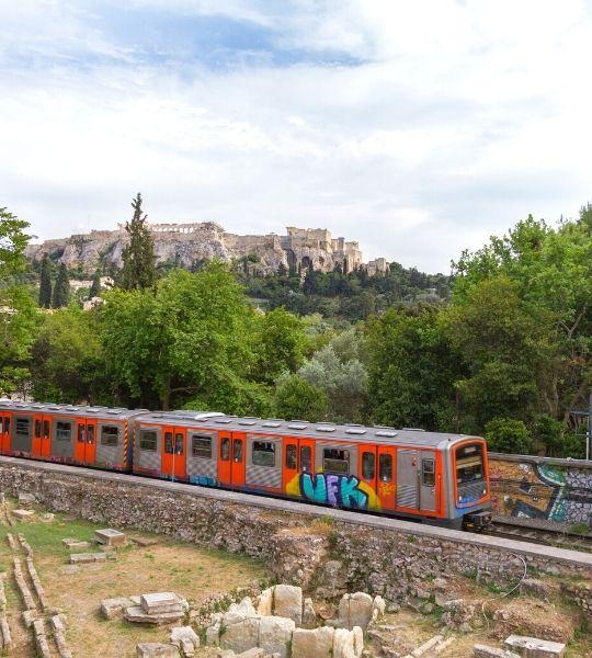 Public Transport - Athens Greece