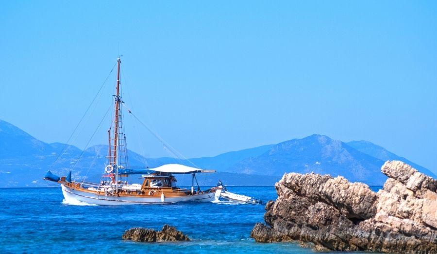 Sailing Athens Greece