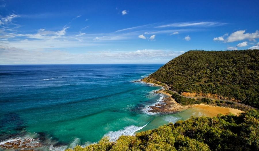 Teddy's Lookout - Australia Great Ocean Road