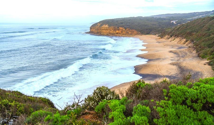 Torquay surfer village - Great Ocean Road Australia