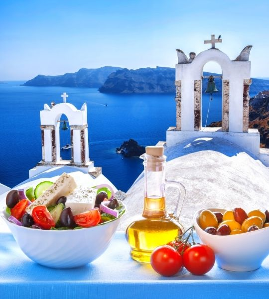 Typical Greece Food