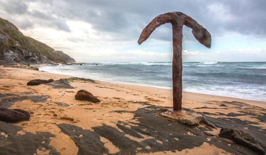 Wreck beach - Australia