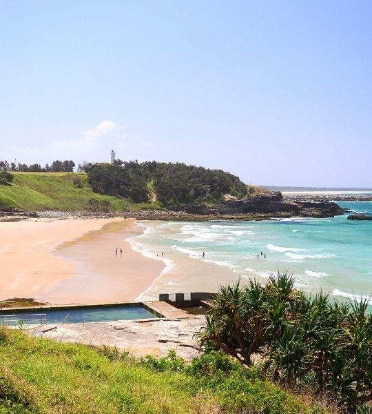 Yamba Beach - Australia