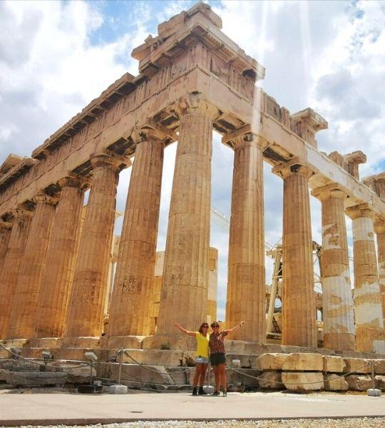 Akropolis Athens Greece Hike