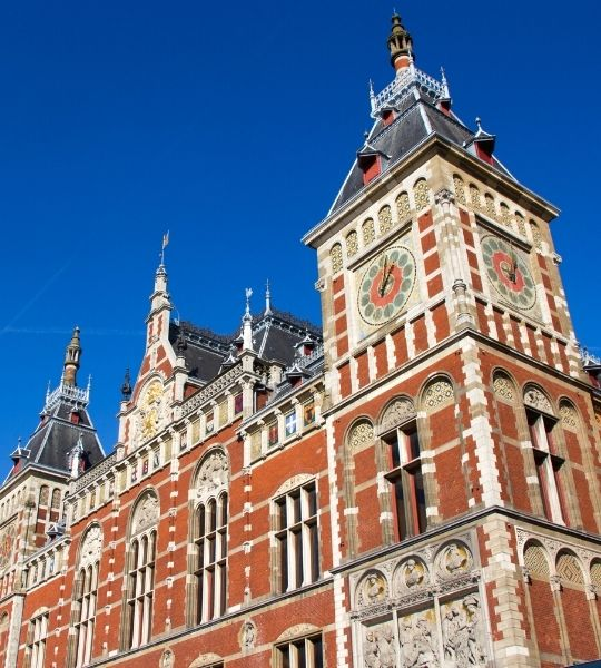 Art & History Walking Tour from Amsterdam Central
