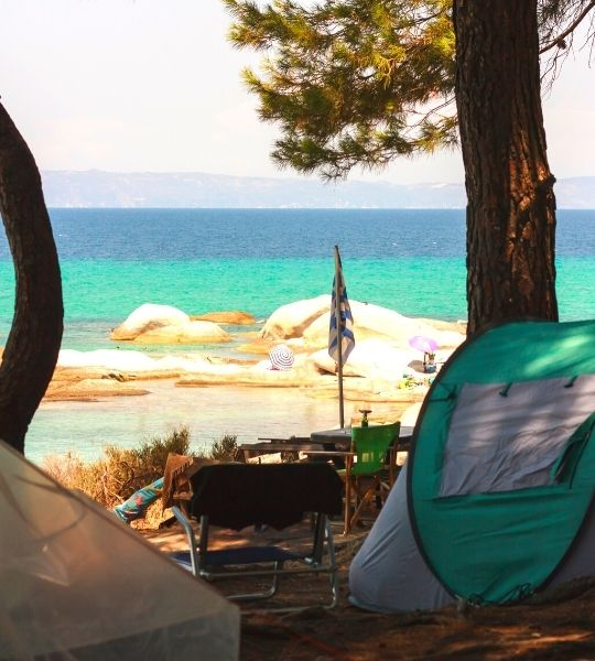Campground Greece