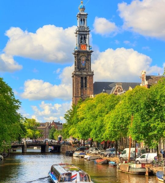 Canal Art & History Walking Tour from Amsterdam Central