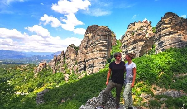 Day trip from Athens to Meteora