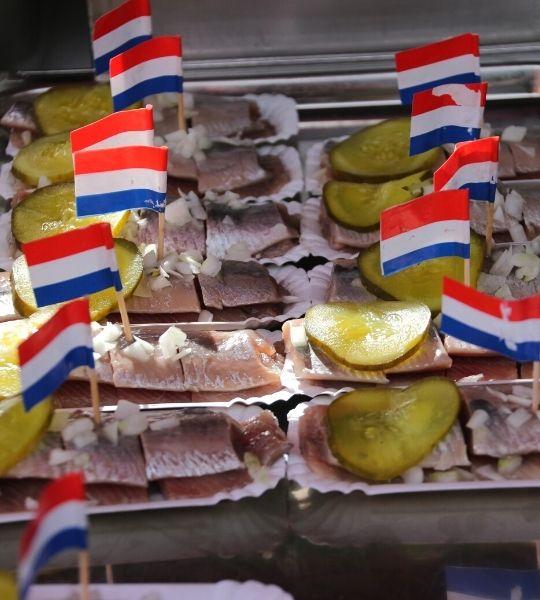 Dutch Herring tasting Amsterdam Walking Tour
