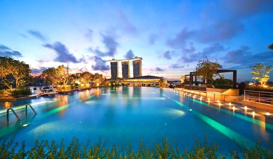 Fullerton Bay Hotel Singapore Infinity