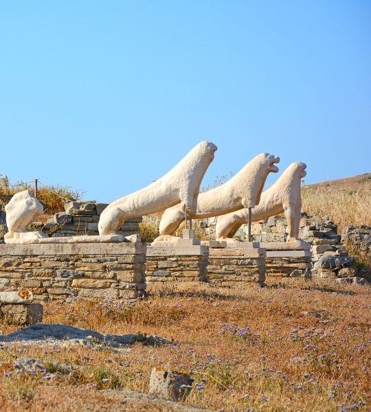 Greece Delos Archeological Tour (Delos, day trip from Mykonos) - Walks in Greece