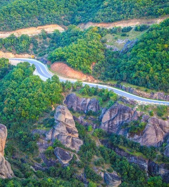 Greece Roads Biking