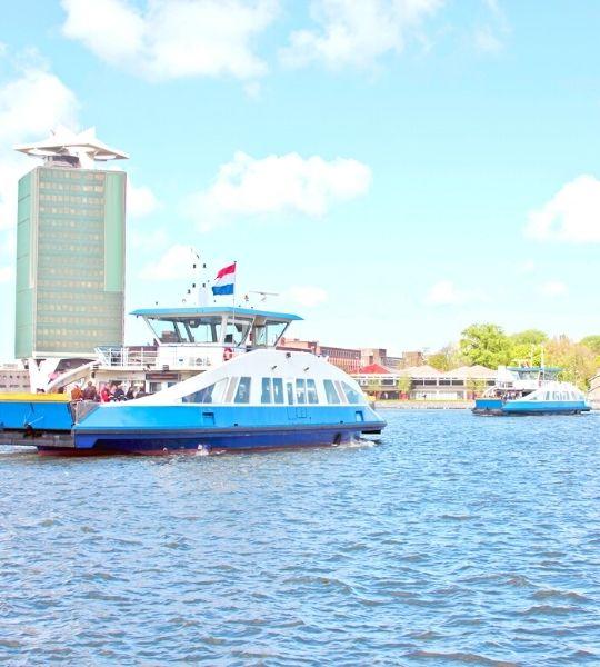 IJ Amsterdam Walk
