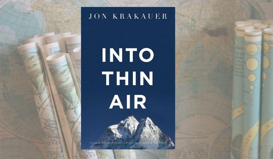 Into Thin Air Travel Book