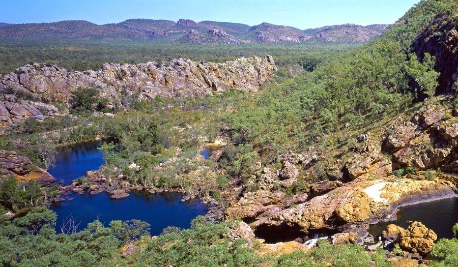 Koolpin Gorge Kakadu National Park Australia