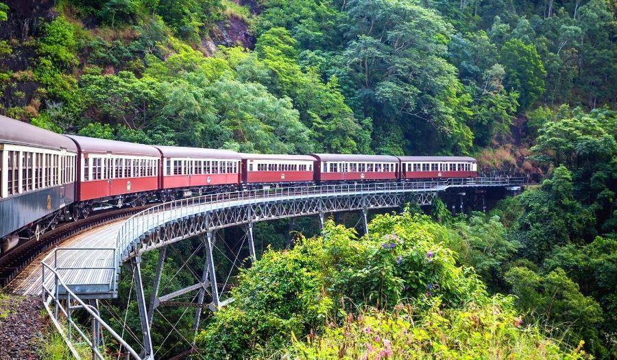Kuranda Rainforest Scenic Railway Australia