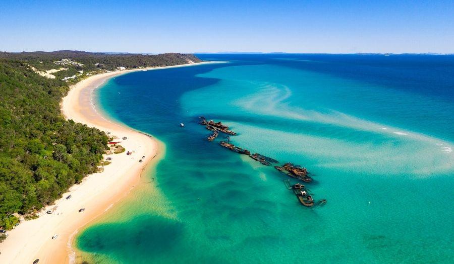 Moreton Island Brisbane Hikes