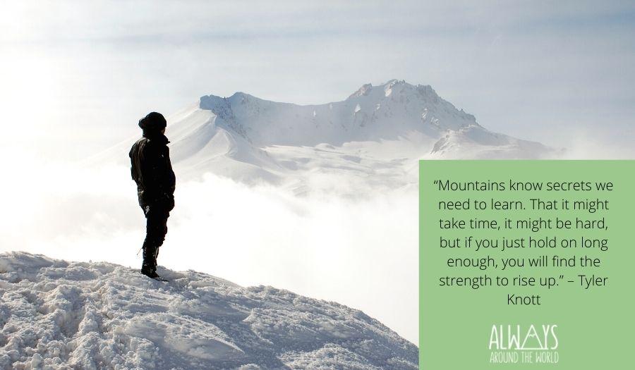 Mountain quotes full