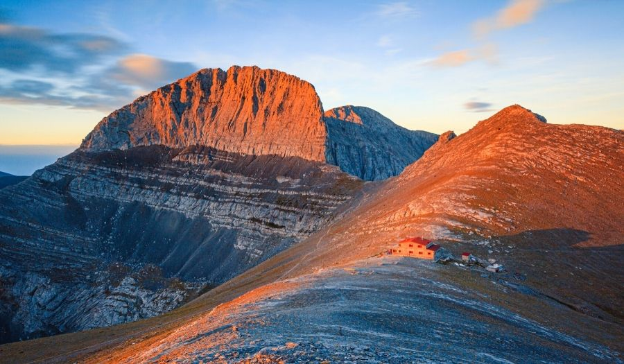 Multi day walks in Greece: Mt Olympus Greece Hiking