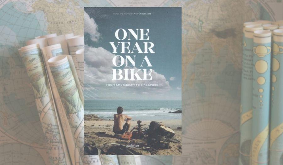 One year on a bike - Travel Book