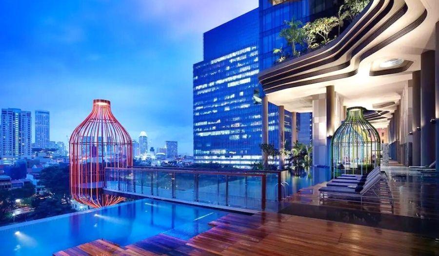 ParkRoyal on Pickering Infinity Pool Singapore